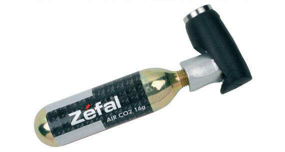Zefal EZ Push Kartuschenpumpe schwarz/silber